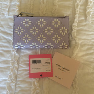 Kate Spade Sylvia Perforated Small Bifold Wallet